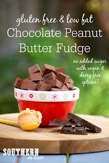 Healthy Peanut Butter Chocolate Fudge Recipe