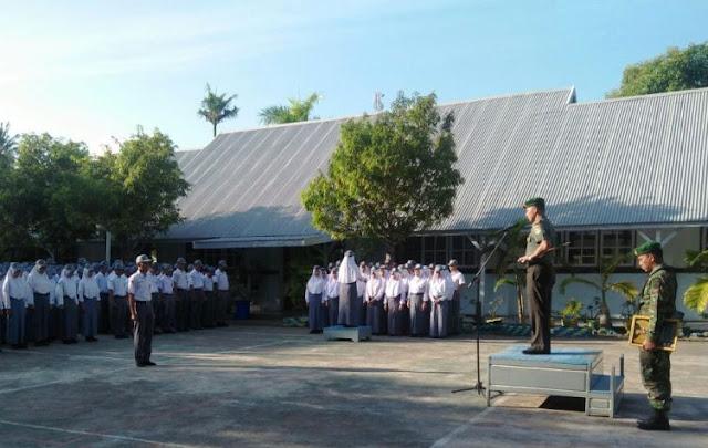Dandim 1415 Pimpin Upacara Bendera, Siswa-Siswi, SMA Negeri 1 Benteng Selayar
