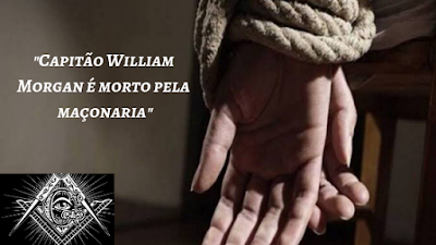 A morte do capitão William Morgan