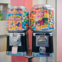 Gumball and candy machines