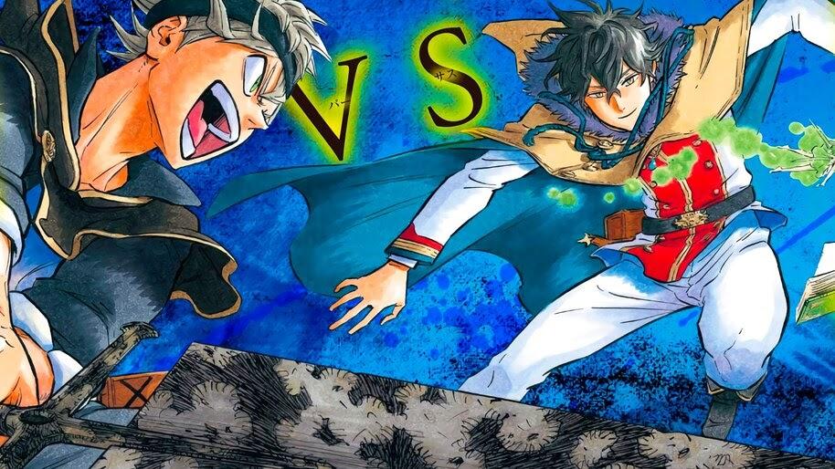 Black Clover, Asta vs Yuno, 4K, #6.858 Wallpaper