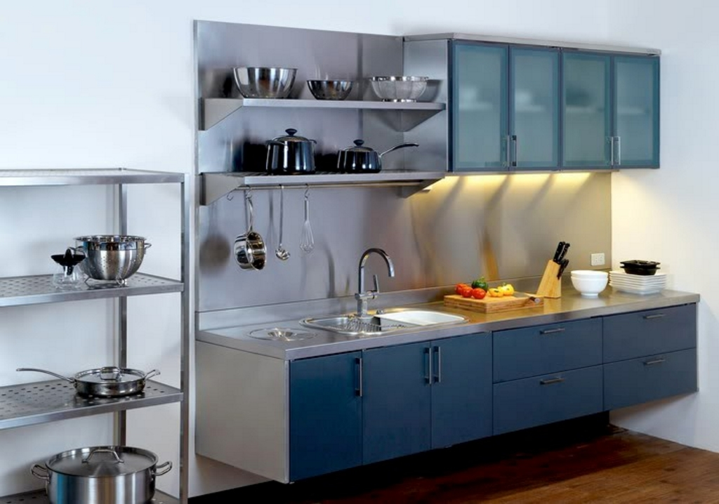 kitchen set dari stainless steel 2