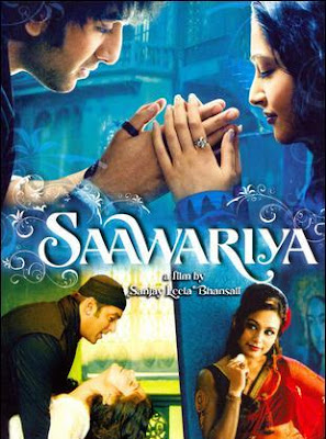 Poster Of Bollywood Movie Saawariya (2007) 300MB Compressed Small Size Pc Movie Free Download worldfree4u.com