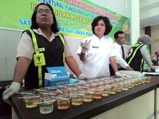 Hakim PN Jombang Dites Urine