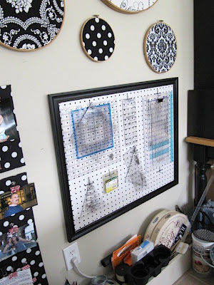 fabric hoops wall decor