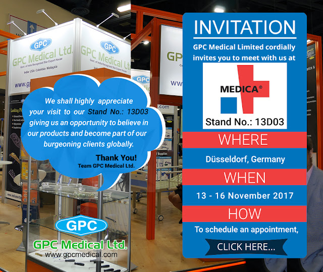 GPC Medical at MEDICA 2017, Germany