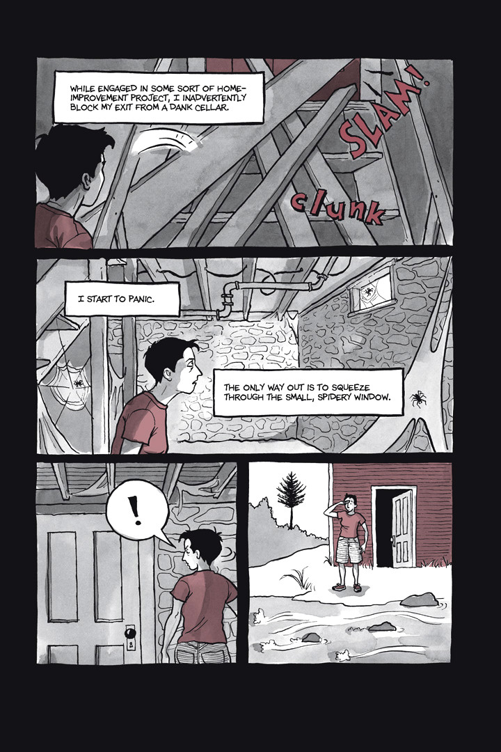 Page 2, Chapter 1: Ordinary Devoted Mother, from Alison Bechdel's graphic novel Are You My Mother