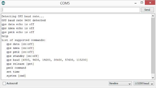 GPS library for Intel Galileo