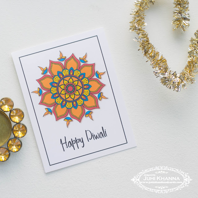 Free printable diwali cards