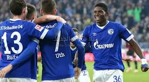 بهدفين لهدف فريق شالكه يتغلب على نادي يونيون برلين في الدوري الالماني من الجولة الثالثه عشر