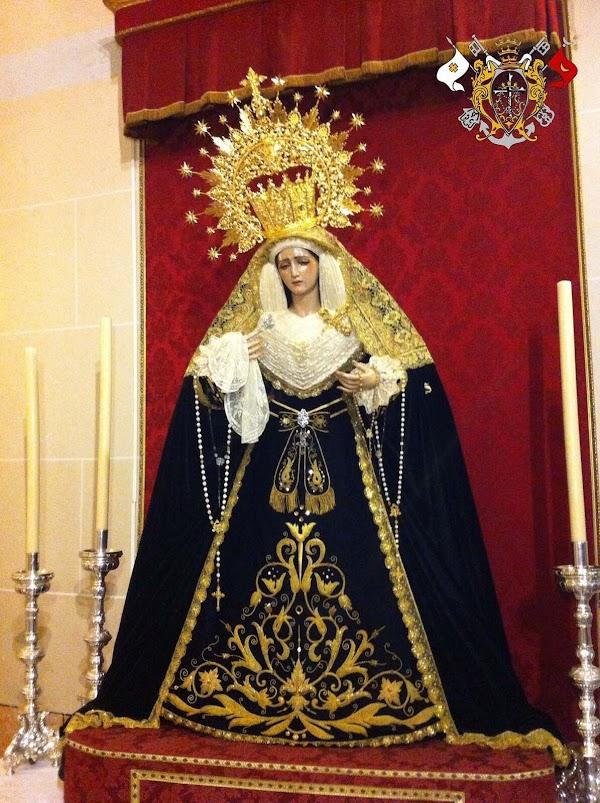 Rosario de la Aurora Virgen del Rosario en sus Misterios Dolorosos de la Hermandad de la Sentencia. Málaga 28 de Octubre del 2018