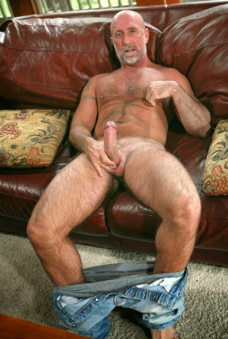 Hot old men naked