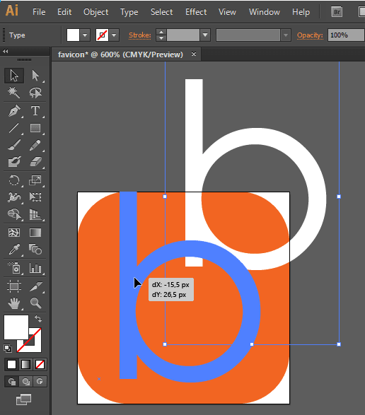 Cara Menggambar Favicon Blog dg Adobe Illustrator