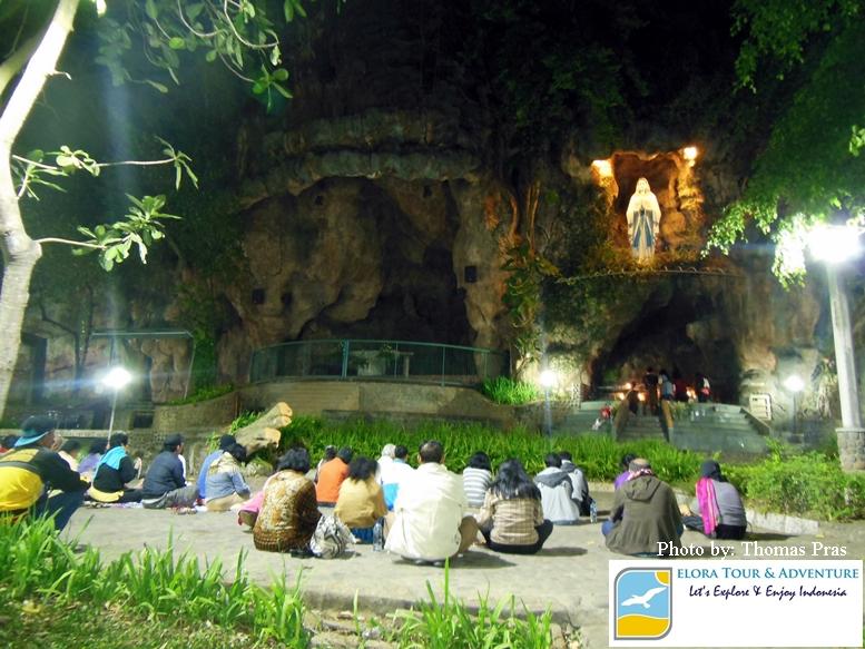 Paket Wisata Ziarah Rohani Ke Gua Maria Di Jawa Bali Elora Tour Adventure