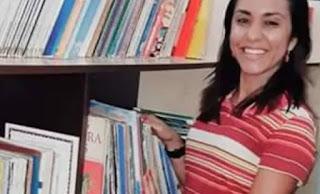 Em Bandeirantes: Enterrado corpo de professora assassinada pelo namorado