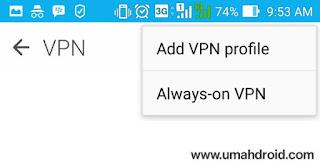 Cara Setting VPN di Android Tanpa Root