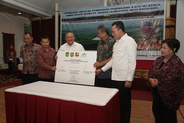Kecamatan Lalan Jadi Pusat Pengelolaan Lanskap Berkelanjutan