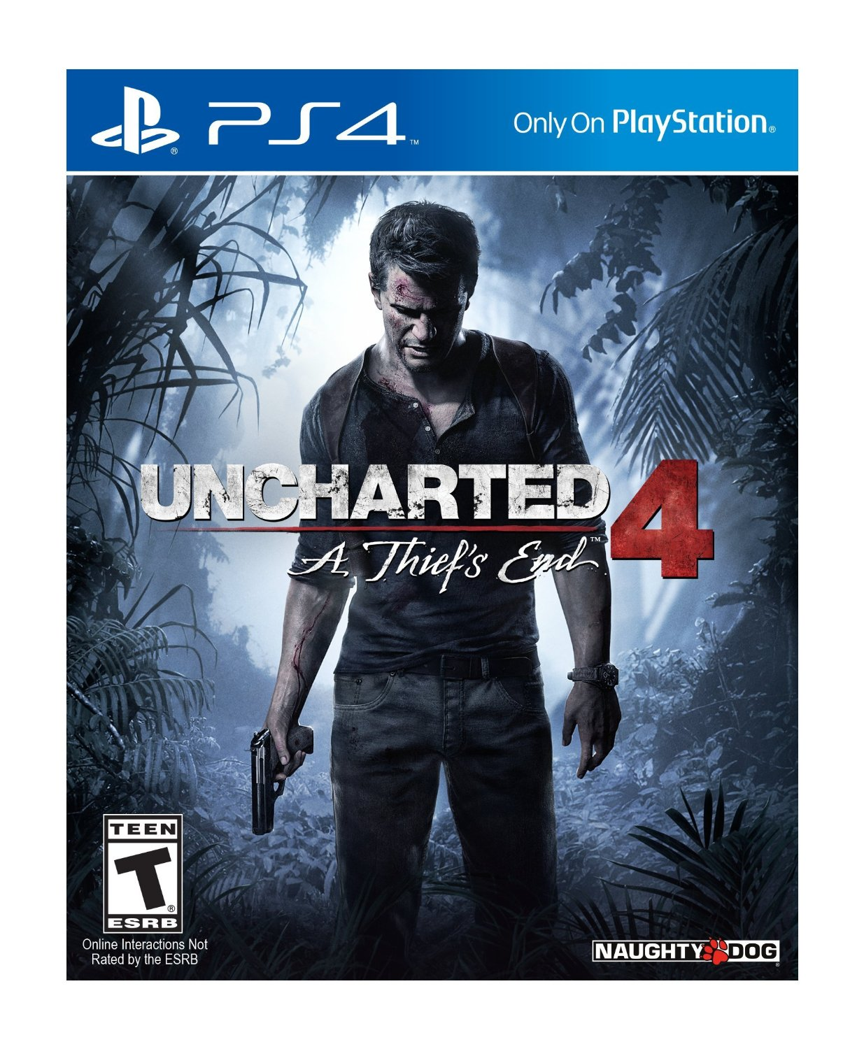 New Games: UNCHARTED 4 - A THIEF'S END (PS4) | The Entertainment Factor