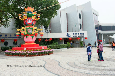 Museu Maritimo or Macau Maritime Museum at Barra square