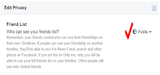 show only mutual friends on facebook