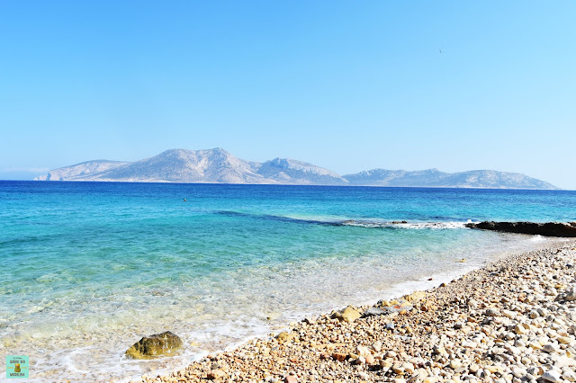Piscina natural en Koufonisia, Grecia