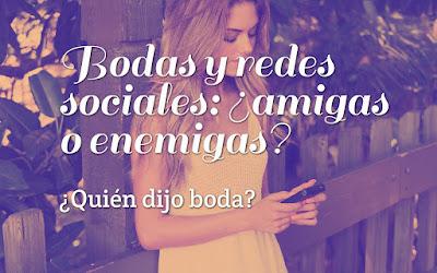 Bodas y redes sociales: ¿amigas o enemigas?