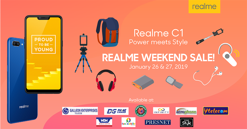 Realme announces cool C1 deals this weekend!