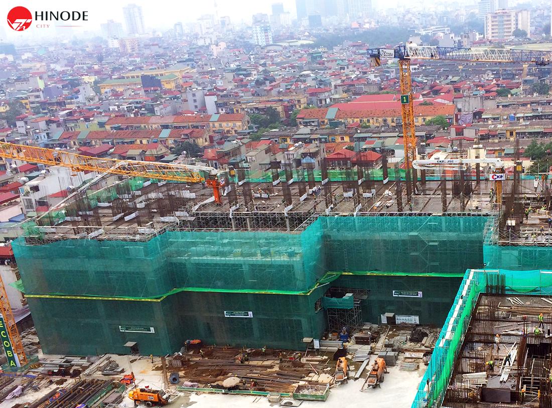 Tiến độ xây dựng toà Sachi ngày 25/05/2018