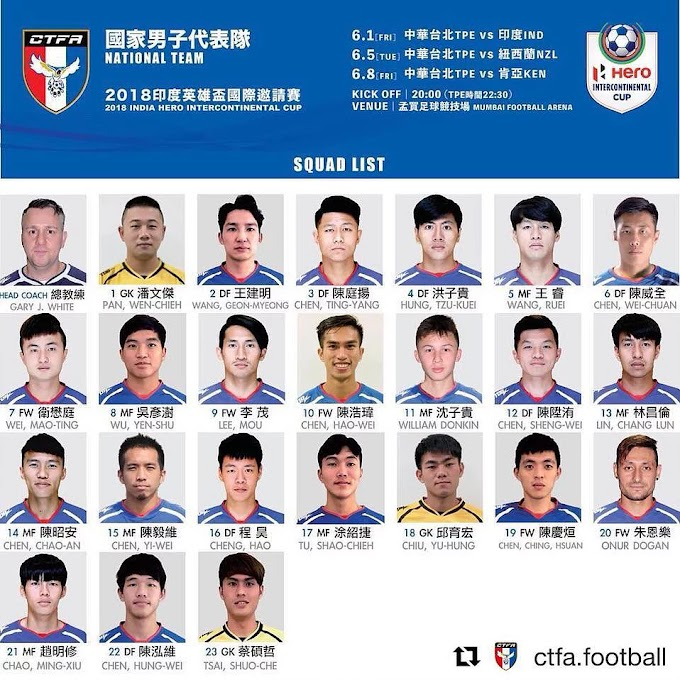 Taiwan confident as youthful squad is prepared for tournament in India