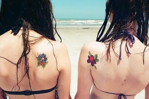 Tatuagens femininas que simbolizam a amizade