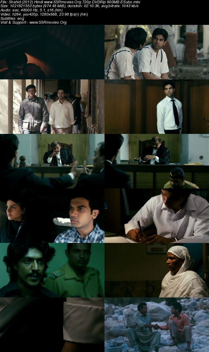 Shahid (2013) Hindi 720p DVDRip