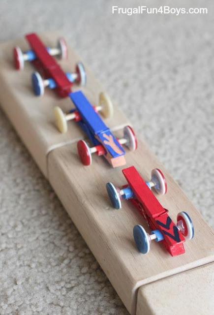 Clothespin Car