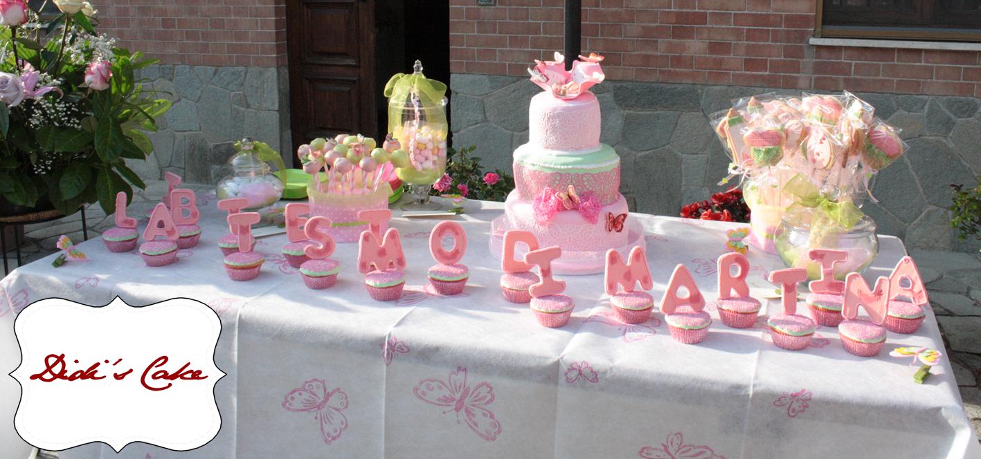 spesso Didi's Cake: Sweet Table per il Battesimo di Martina OI24