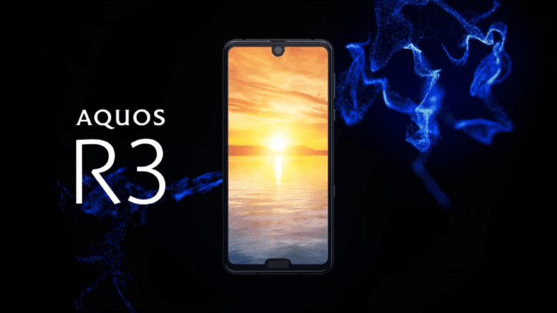 Sharp launches Aquos R3 with Snapdragon 855 and 120Hz dual notch screen