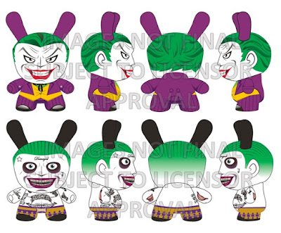 DC Comics Dunny Collection by Kidrobot - The Joker Dunny 5 Inch Vinyl Figures