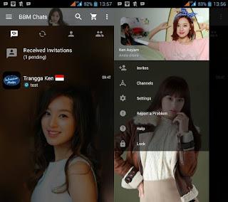 BBM MOD KIM JI WON 2.13.0.22 Clone Terbaru