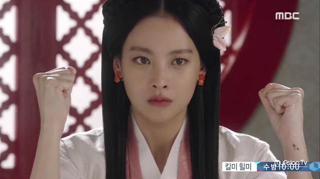 Oh Yeon Seo in Shine or Go Crazy, a Korean historical drama