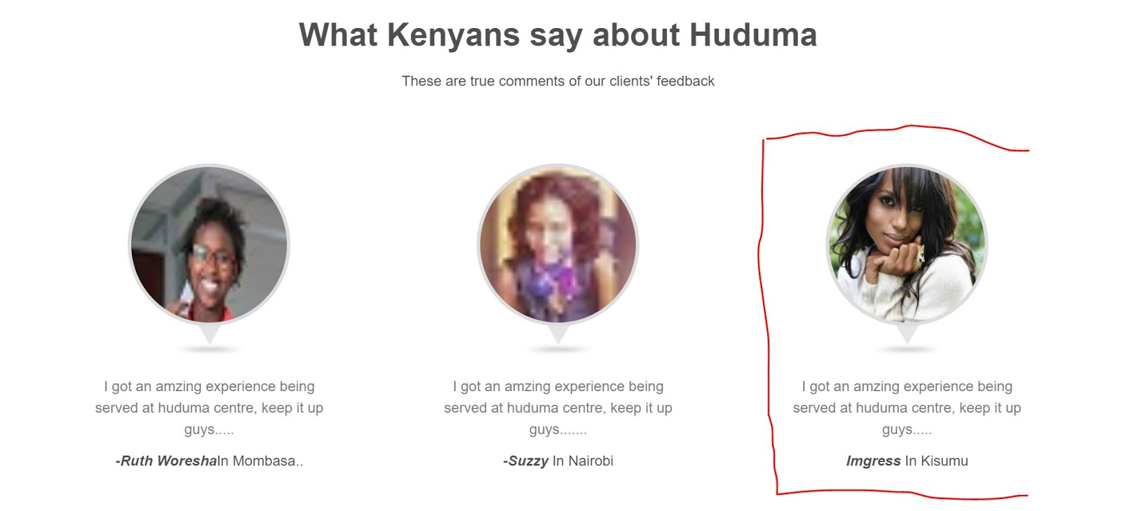 American Actress Used Huduma Kenya Services And Loved It