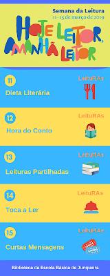 Programa Semana da Leitura BE Junqueira