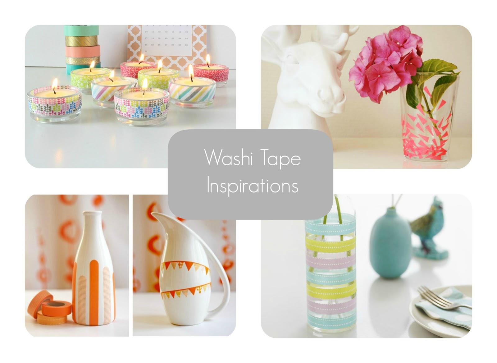 washi tape inspiracje