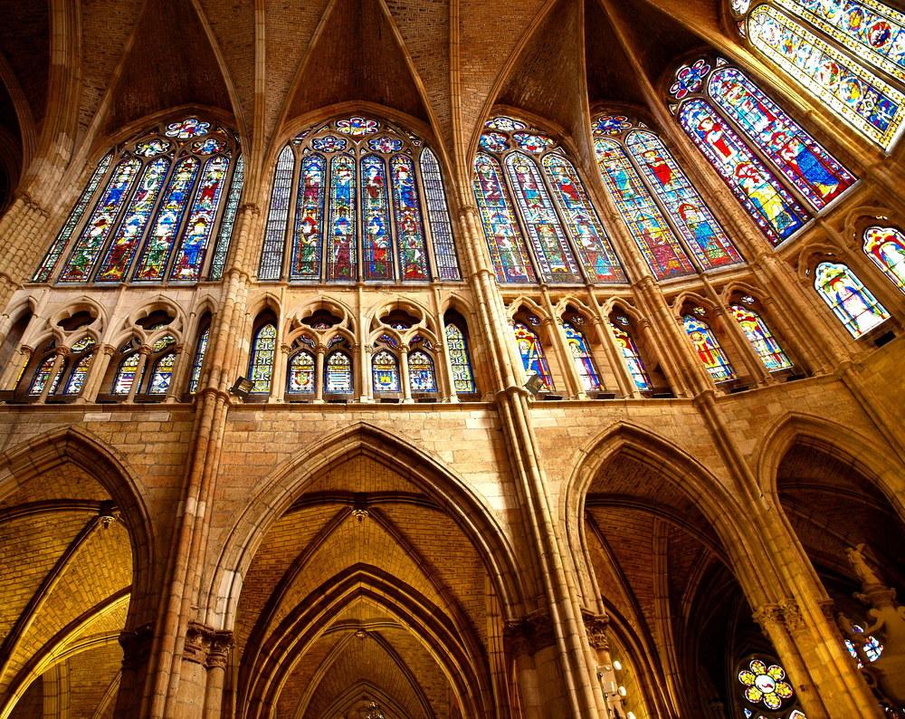 EL RINCÓN DEL ARTE: La Catedral de Léon: un espectáculo de