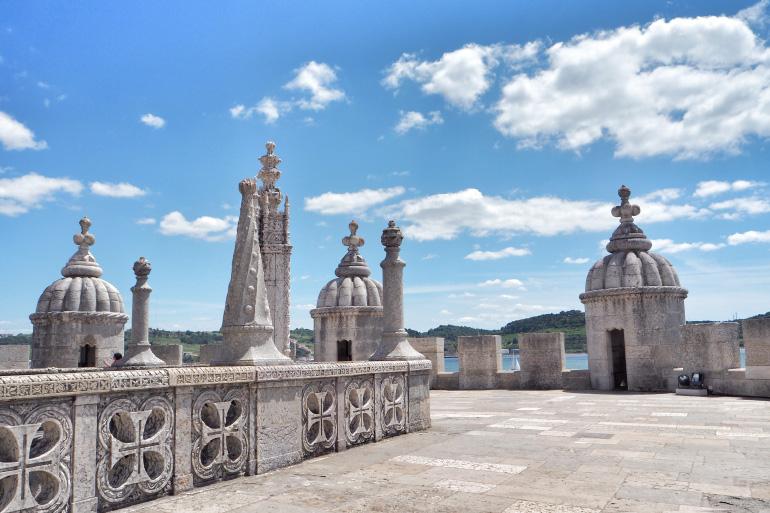 Visite de la tour de Belém dans la ville de Lisbonne