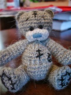 Мишка Тедди крючком амигуруми для начинающих