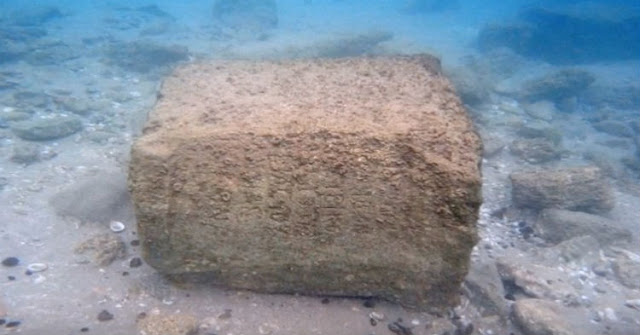 LOOK! A 1,800-Year-Old Tablet Was Discovered At The Bottom Of The Sea, And It May Prove That Jesus Doubters Were Wrong!