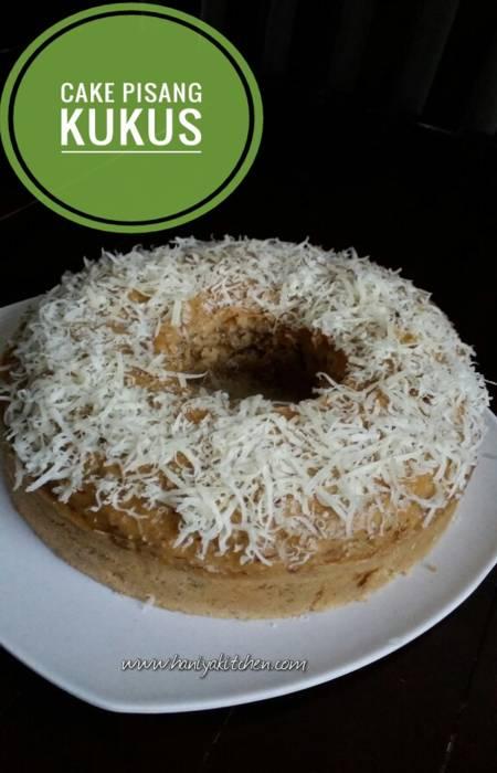 Resep Cake Pisang Kukus Enak Anti Gagal