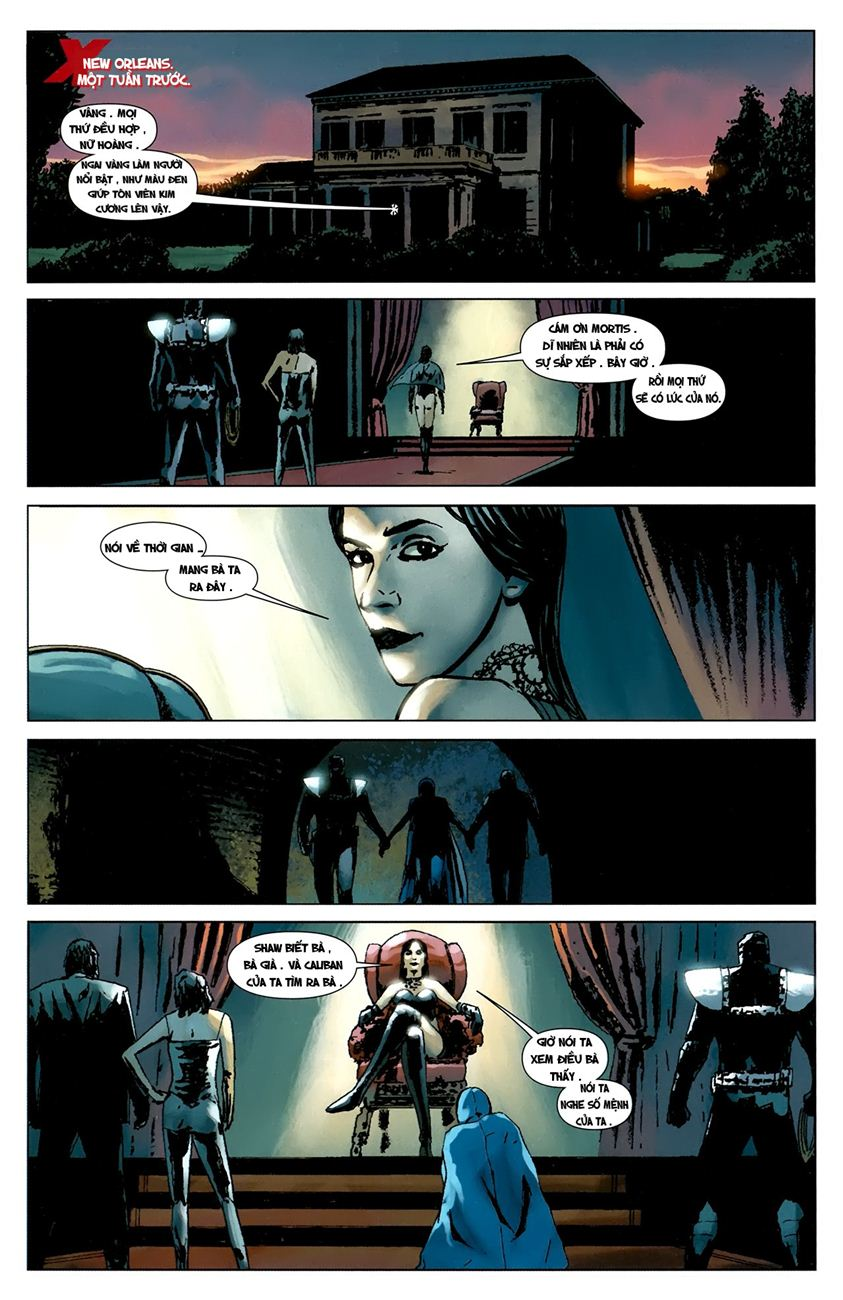 X-Men Necrosha chap 1 trang 38