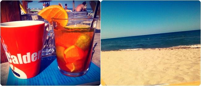 Caldera beach bar Paralia