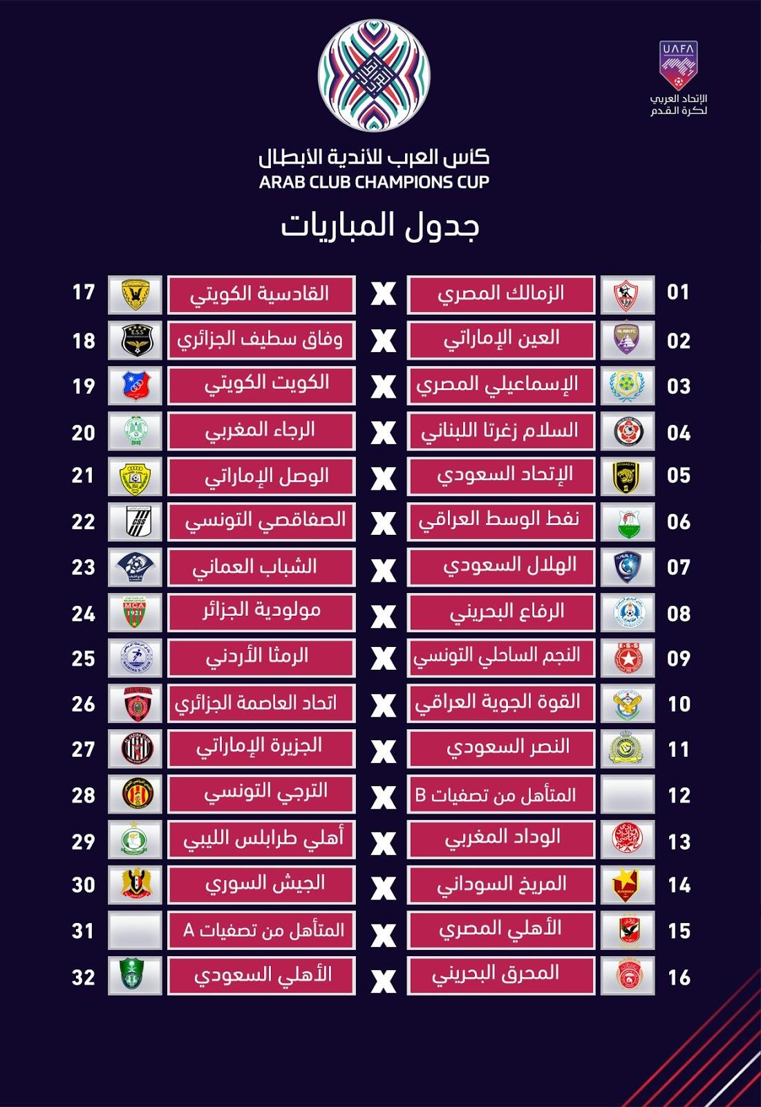 Arab Club Champions Cup изоражения