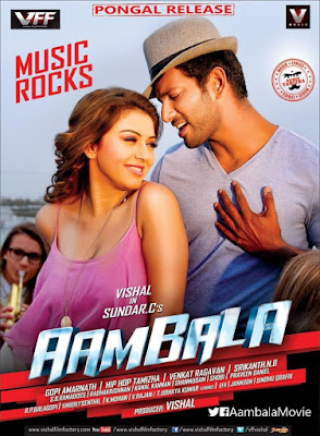Aambala 2015 Dual Audio 720p UNCUT HDRip 1.6GB , South indian movie Aambala hindi dubbed 720p dvdrip 700mb brrip bluray 1gb free download or watch online at world4ufree.be