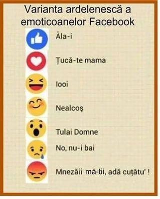 Emoticoanele de pe FaceBook